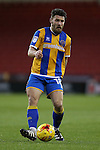 Gary Deegan of Shrewsbury Town during the English League One match at the Bramall Lane Stadium, Sheffield. Picture date: November 19th, 2016. Pic Simon Bellis/Sportimage