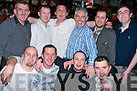 CUTTING: A night out for the Supple Cutting Service, Causeway as they went to dinner in the Abbey Inn, Tralee on Friday night. Front l-r: David Sullivan, Brent James, Tim Nolan and Paul Nolan. Back l-r: John McCarthy, Kenneth Cronin, Chris Walsh, Mike Sugrue, Jason Stack and Gavin O'Connor......   Copyright Kerry's Eye 2008