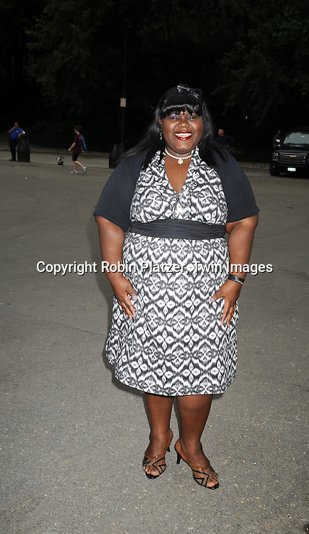 """actress Gabby Sidibe, who is in the movie """"Precious"""""""