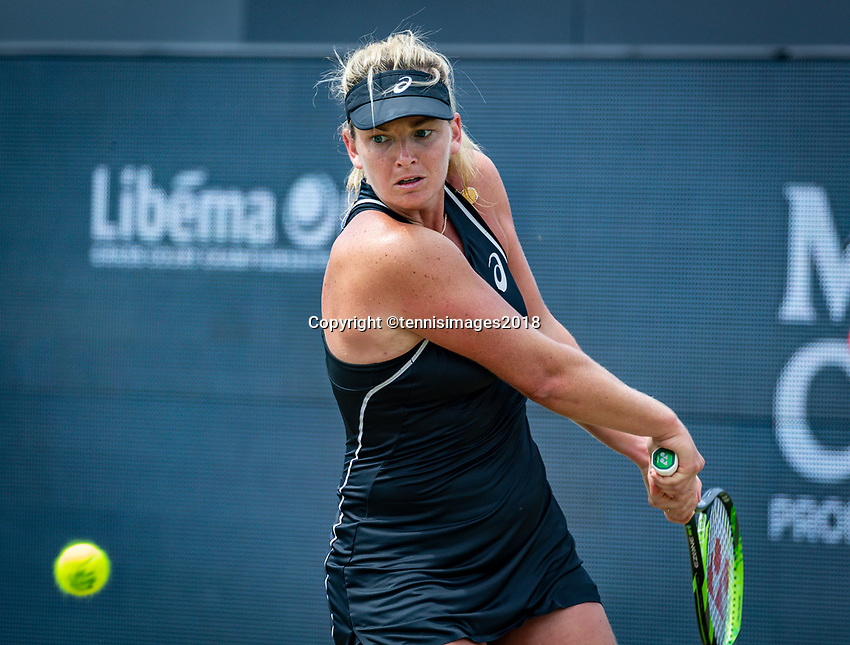 Den Bosch, Netherlands, 16 June, 2018, Tennis, Libema Open, CoCo Vanderweghe (USA)<br /> Photo: Henk Koster/tennisimages.com