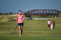 Gerina Piller (USA) waits to putt on 2 during the round 3 of the Volunteers of America Texas Classic, the Old American Golf Club, The Colony, Texas, USA. 10/5/2019.<br /> Picture: Golffile   Ken Murray<br /> <br /> <br /> All photo usage must carry mandatory copyright credit (© Golffile   Ken Murray)