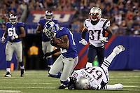 WR Jerrel Jernigan (Giants) gegen DE Justin Francis (Patriots)