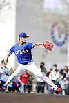 Yu Darvish (Rangers),<br /> FEBRUARY 21, 2014 - MLB :<br /> Texas Rangers spring training camp in Surprise, Arizona, United States. (Photo by AFLO)