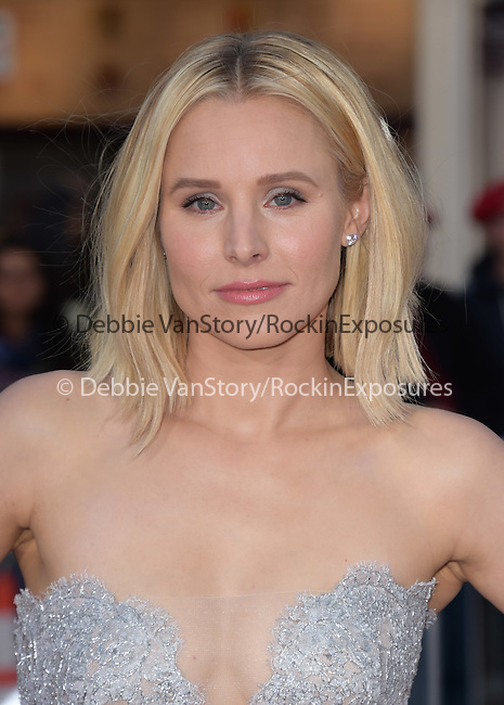 Kristen Bell attends The Universal Pictures' World Premiere of The Boss held at The Regency Village Theatre  in Westwood, California on March 28,2016                                                                               ©2016 Hollywood Press Agency
