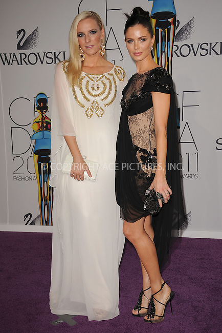 WWW.ACEPIXS.COM . . . . . .June 6, 2011...New York City.....Keren Craig and Georgina Chapman attend the 2011 CFDA Fashion Awards at Alice Tully Hall, Lincoln Center on June 6, 2011 in New York City......Please byline: KRISTIN CALLAHAN - ACEPIXS.COM.. . . . . . ..Ace Pictures, Inc: ..tel: (212) 243 8787 or (646) 769 0430..e-mail: info@acepixs.com..web: http://www.acepixs.com .