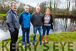 Members of Mid Kerry Tourism Cluster, celebrates the Reeks District been named as one of the top places in the world by Rough Guides.<br /> L-r, Declan Falvey, Jens Bachem, Donal Dowd and Lee Griffin.
