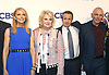Cast of &quot;Murphy Brown&quot;, Faith Ford, Candice Bergen, Grant Shaud and Joe Regalbuto attend the CBS Upfront 2018-2019 at The Plaza Hotel in New York, New York, USA on May 16, 2018.<br /> <br /> photo by Robin Platzer/Twin Images<br />  <br /> phone number 212-935-0770