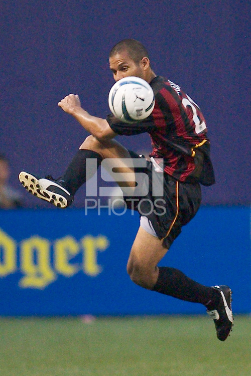 Craig Ziadie of the MetroStars. The San Jose Earthquakes and the the NY/NJ MetroStars played to a 4-4 tie on 7/02/03 at Giant's Stadium, NJ..