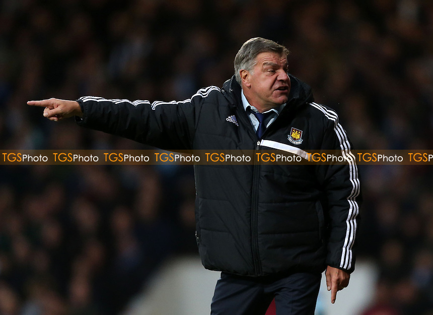 West Ham manager Sam Allardyce - West Ham United vs Sunderland, Barclays Premier League at Upton Park, West Ham - 14/12/13 - MANDATORY CREDIT: Rob Newell/TGSPHOTO - Self billing applies where appropriate - 0845 094 6026 - contact@tgsphoto.co.uk - NO UNPAID USE