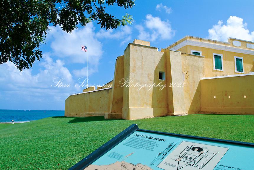 Fort Christiansvaern<br /> Christiansted<br /> St. Croix, U.S. Virgin Islands