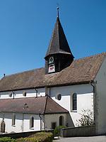 Kirche von Schienen/&Ouml;hningen, Baden-W&uuml;rttemberg, Deutschland, Europa<br /> church of Schienen/&Ouml;hningen, Baden-W&uuml;rttemberg, Germany, Europe