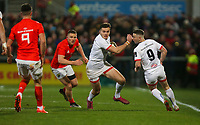 Friday 3rd January 2020 | Ulster Rugby vs Munster Rugby<br /> <br /> Jacob Stockdale during the PRO14 Round 10 inter-pro clash between Ulster and Munster at Kingspan Stadium, Ravenhill Park, Belfast, Northern Ireland.  Photo by John Dickson / DICKSONDIGITAL
