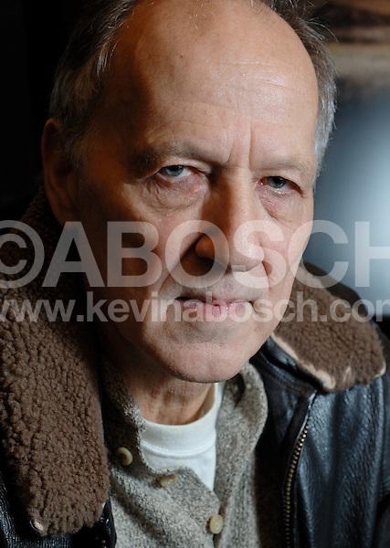 Werner Herzog Portrait.January 2006