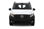 Car photography straight front view of a 2016 Mercedes Benz Metris Cargo-Van 4 Door Cargo Van Front View