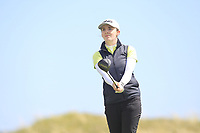 Lauren Walsh (Castlewarden) on the 9th tee during Round 3 of the Irish Women's Open Stroke Play Championship 2018 on Sunday 13th May 2018.<br /> Picture:  Thos Caffrey / Golffile<br /> <br /> All photo usage must carry mandatory copyright credit (&copy; Golffile | Thos Caffrey)