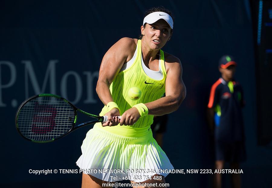 LAURA ROBSON (GBR)<br /> <br /> TENNIS - THE US OPEN - FLUSHING MEADOWS - NEW YORK - ATP - WTA - ITF - GRAND SLAM - OPEN - NEW YORK - USA - 2016  <br /> <br /> <br /> <br /> &copy; TENNIS PHOTO NETWORK