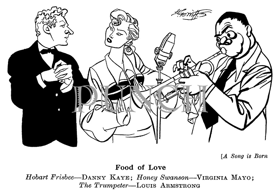 A Song is Born ; Danny Kaye , Virginia Mayo and Louis Armstrong