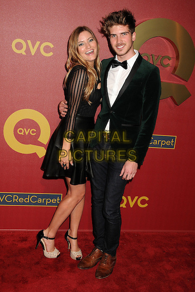 28 February 2014 - Los Angeles, California - Justine Ezarik, iJustine, Joey Graceffa. QVC Presents Red Carpet Style held at the Four Seasons Hotel. <br /> CAP/ADM/BP<br /> &copy;Byron Purvis/AdMedia/Capital Pictures