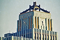 Los Angeles: Eastern Columbia Building,  849 S. Broadway, 1929.  Architect Claude Beelman.  Photo 1987.