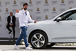 Sergio Llull during the Audi Car delivery, at the basketball players of the Real Madrid. May 25,2016. (ALTERPHOTOS/Rodrigo Jimenez)