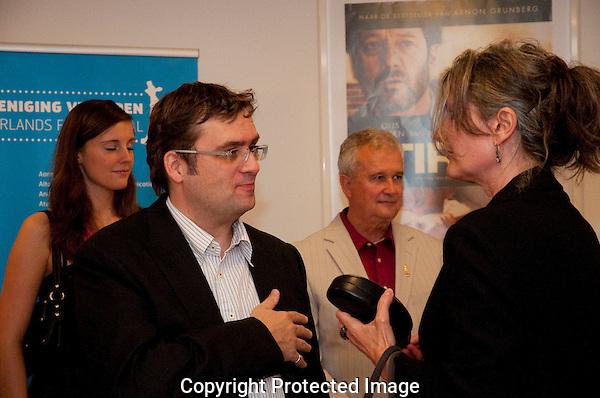 Utrecht, 22 september 2010 .Nederlands FILM FESTIVAL.Openings avond.Jan Sirag, Gitta Kruisbrink..Foto Lucia Guglielmetti