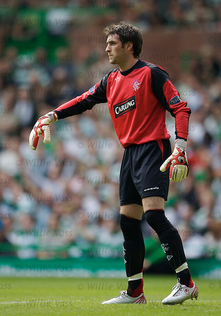 Allan McGregor, Rangers.stock season 2006-2007.pic willie vass