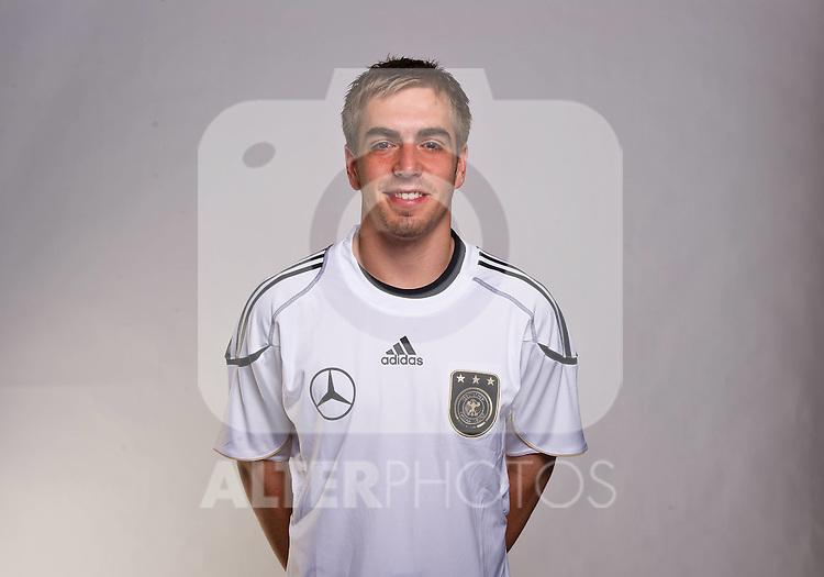 02.06.2010, Commerzbank-Arena, Frankfurt, GER, FIFA Worldcup, Spielerportraits, im Bild Philipp Lahm ( FC Bayern Muenchen #16 ) Foto © nph / Kokenge