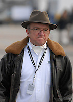 Feb 15, 2007; Daytona, FL, USA; Nascar Busch Series team owner Jack Roush during practice for the Orbitz 300 at Daytona International Speedway. Mandatory Credit: Mark J. Rebilas