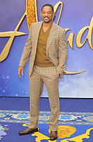 Will Smith at the &quot;Aladdin&quot; European gala film screening, Odeon Luxe Leicester Square, Leicester Square, London, England, UK, on Thursday 09th May 2019.<br /> CAP/CAN<br /> &copy;CAN/Capital Pictures