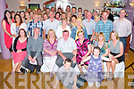 Donie and Mary Moriarty, Pinewood Estate, Killarney pictured with family and friends as they celebrated their 40th wedding anniversary in the Heights Hotel, Killarney on Friday night.