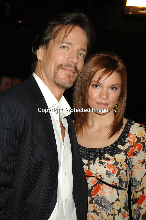 """Bradley Cole and Mandy Bruno of """"Guiding Light""""..at the Announcement of the nominees for the 34th Annual Daytime Emmy Awards on March 14, 2007 at """"Guiding Light"""" Studio. Julie Chen of """" The Early Show"""" was the host. ..Robin Platzer, Twin Images"""