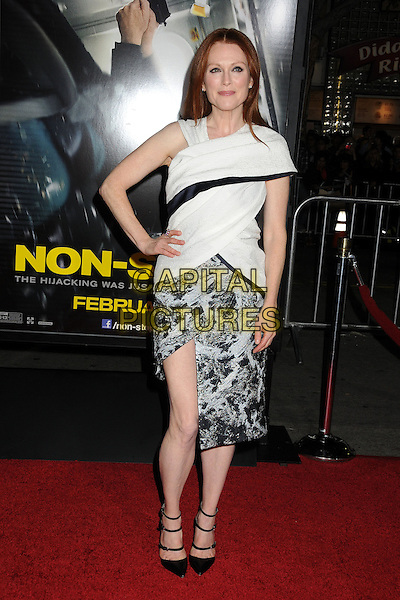 LOS ANGELES, CA - FEBRUARY 24 - Julianne Moore. &quot;Non-Stop&quot; Los Angeles Premiere held at the Regency Village Theatre. <br /> CAP/ADM/BP<br /> &copy;Byron Purvis/AdMedia/Capital Pictures
