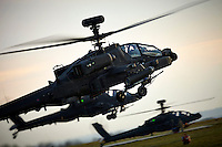 Boeing AH64 Apache Longbow Attack Helicopter.
