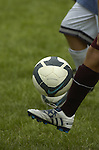 A ball handling drill during the Loyalsock boys soccer team's first day of practice.