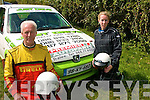 FLAT OVER CREST: Former Irish National Rally class winner Brendan Farmer from Tonevane Tralee took his daughter Una for a very fast drive around Ballybeggan race track last Saturday in the Rallysprint organised and promoted by Kerry Motor Club.