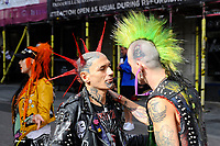 BLACKPOOL, ENGLAND - AUGUST 6: Festival Goers at Rebellion Festival, Winter Gardens on August 6, 2017 in Blackpool, England.<br /> CAP/MAR<br /> &copy;MAR/Capital Pictures