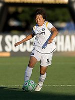 23 July 2009:  Aya Miyama of the LA Sol in action during the game against FC Gold Pride at Buck Shaw Stadium in Santa Clara, California.   FC Gold Pride tied Los Angeles Sol, 0-0.