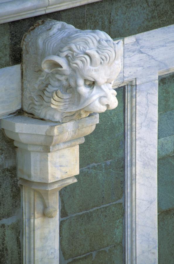 Gargoyle on the side of the Duomo, Florence, Italy