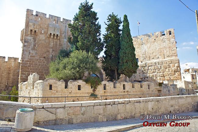 Citadel of King David in Old City, Jerusalem