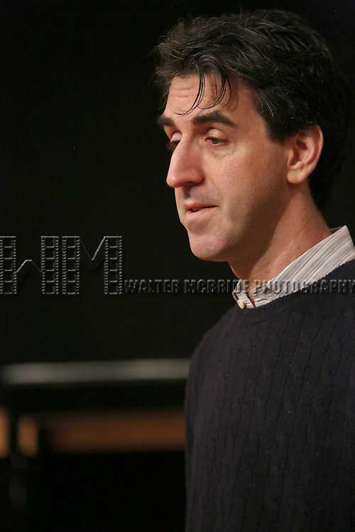 Jason Robert Brown during the press day preview of 'Prince of Broadway' at SIR Studio on October 5, 2015 in New York City.
