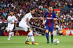 52e Trofeu Joan Gamper.<br /> FC Barcelona vs Chapecoense: 5-0.<br /> Victor Ramos vs Lionel Messi.