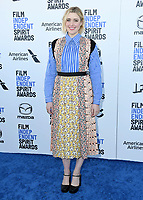 08 February 2020 - Santa Monica - Greta Gerwig. 2020 Film Independent Spirit Awards - Arrivals held at Santa Monica Pier. Photo Credit: Birdie Thompson/AdMedia