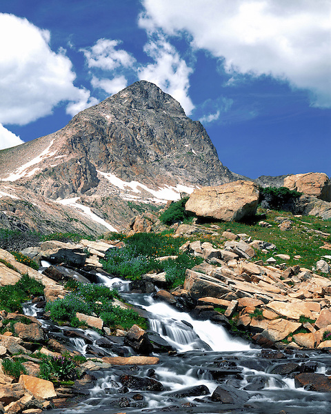Mount Toll and Mitchell Creek in the Indian Peaks Wilderness Area, near Boulder, Colorado, USA Private photo tours to Indian Peaks. .  John leads private photo tours throughout Colorado. Year-round Colorado photo tours.