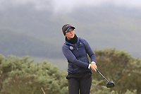 Linn Grant (SWE) on the 3rd tee during Matchplay Semi-Finals of the Women's Amateur Championship at Royal County Down Golf Club in Newcastle Co. Down on Saturday 15th June 2019.<br /> Picture:  Thos Caffrey / www.golffile.ie
