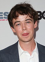 "LOS ANGELES, CA- Alex Lawther, At 2017 Outfest Los Angeles LGBT Film Festival - Closing Night Gala Screening Of ""Freak Show"" at The Theatre at Ace Hotel, California on July 16, 2017. Credit: Faye Sadou/MediaPunch"