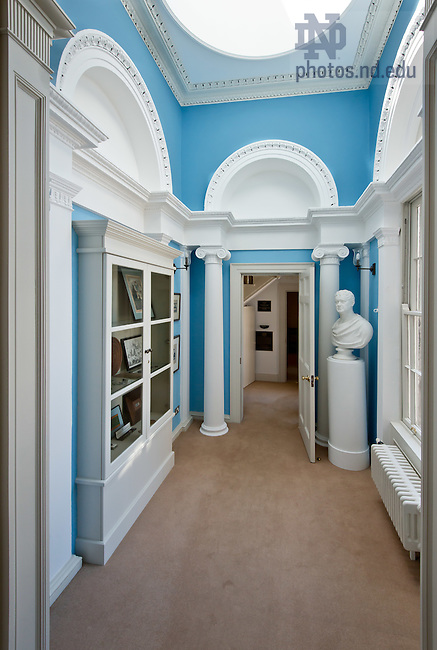 June 11, 2012; Interior of O'Connell House, Dublin, Ireland..Photo by Matt Cashore/University of Notre Dame