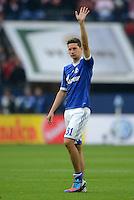 FUSSBALL   1. BUNDESLIGA  SAISON 2012/2013   4. Spieltag FC Schalke 04 - FC Bayern Muenchen      22.09.2012 Julian Draxler (FC Schalke 04)