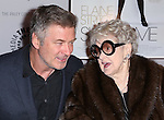 Alec Baldwin and Elaine Stritch attend the 'Elaine Stritch: Shoot Me' screening at The Paley Center For Media on February 19, 2014 in New York City.