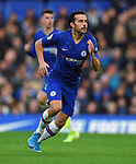 Pedro of Chelsea during the Premier League match at Stamford Bridge, London. Picture date: 30th November 2019. Picture credit should read: Robin Parker/Sportimage