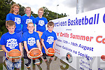 Cahersiveen Basketball club to run a Skills n'Drills summer camp from the 12th -16th August at Colaiste na Sceilge, the camp will be run by Mark Scannell this years Superleague Coach of the Year, pictured here front l-r; Ronan Quinlan, Cian O'Shea, Donagh Quinlan, back l-r; Amy Fitzgerald, Clodagh Quinlan & Saidbh Fitzgerald.